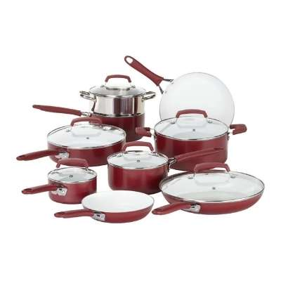 Wearever Ceramic Ptfe Pfoa & Cadmium Free Nonstick Cookware Set