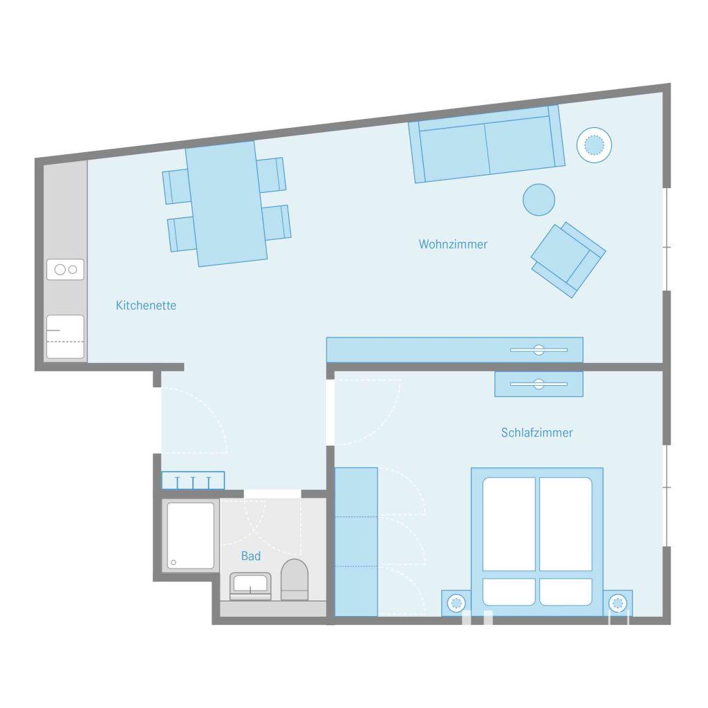 image 9 furnished 1 bedroom Apartment for rent in Karlshorst, Lichtenberg