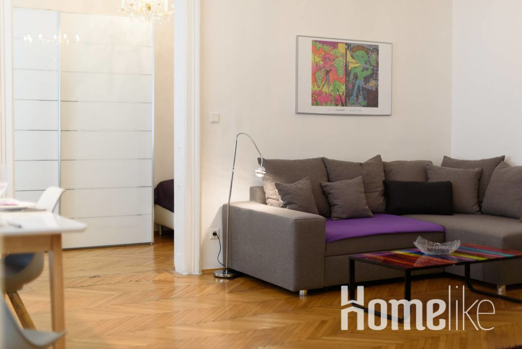 image 2 furnished 1 bedroom Apartment for rent in Mariahilf, Vienna