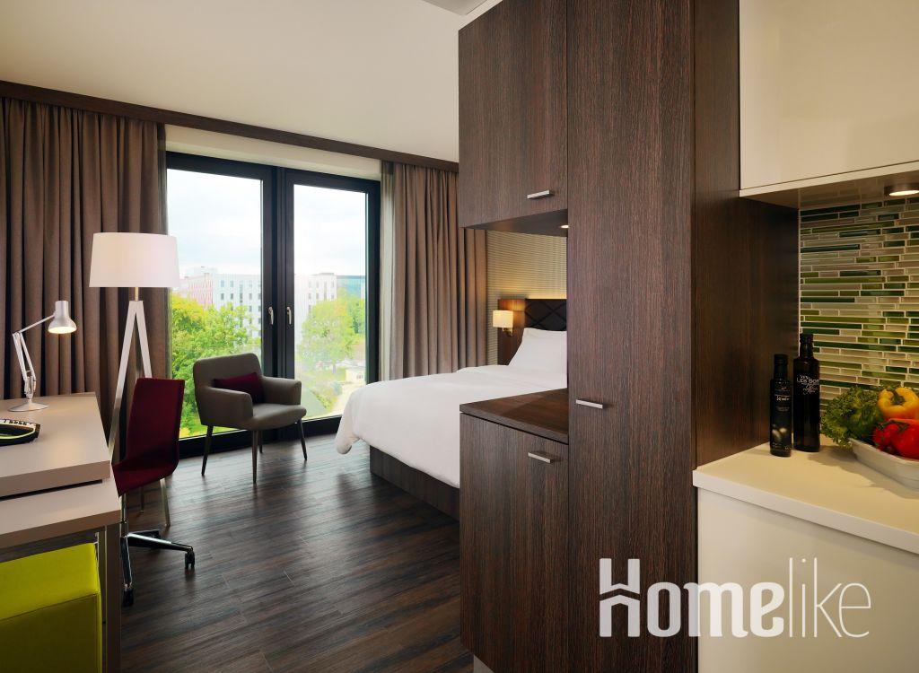 image 2 furnished 1 bedroom Apartment for rent in Flughafen, Frankfurt
