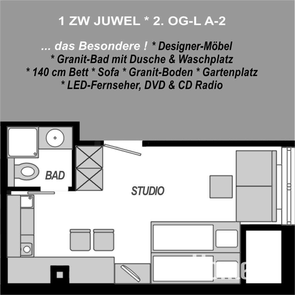 image 9 furnished 1 bedroom Apartment for rent in Mainz, Mainz