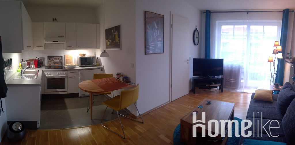 image 1 furnished 1 bedroom Apartment for rent in Biesdorf, Marzahn-Hellersdorf