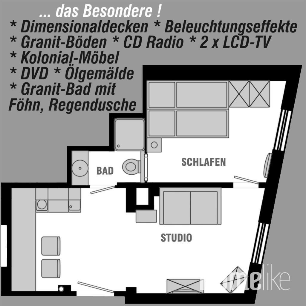 image 8 furnished 1 bedroom Apartment for rent in Frankfurter Berg, Frankfurt