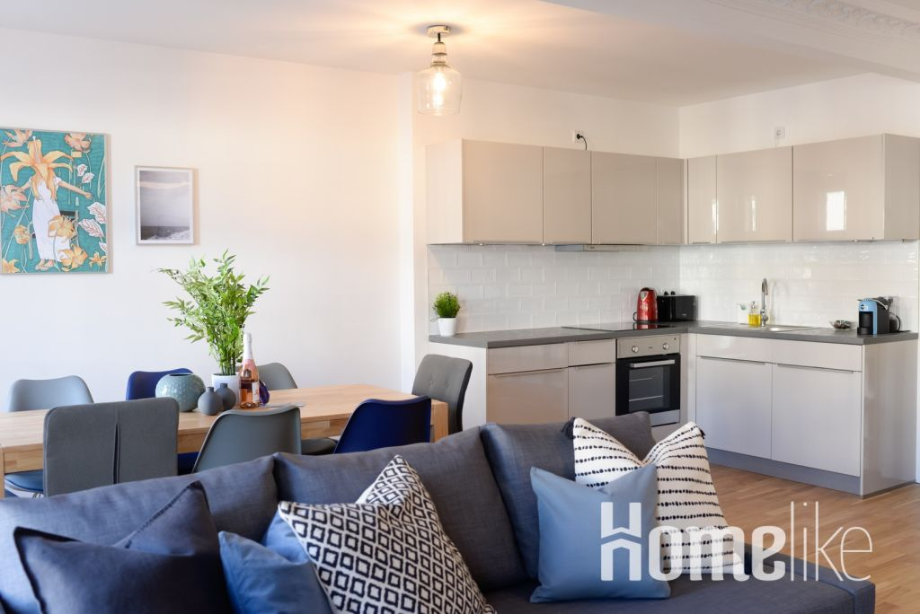 image 4 furnished 3 bedroom Apartment for rent in Moabit, Mitte