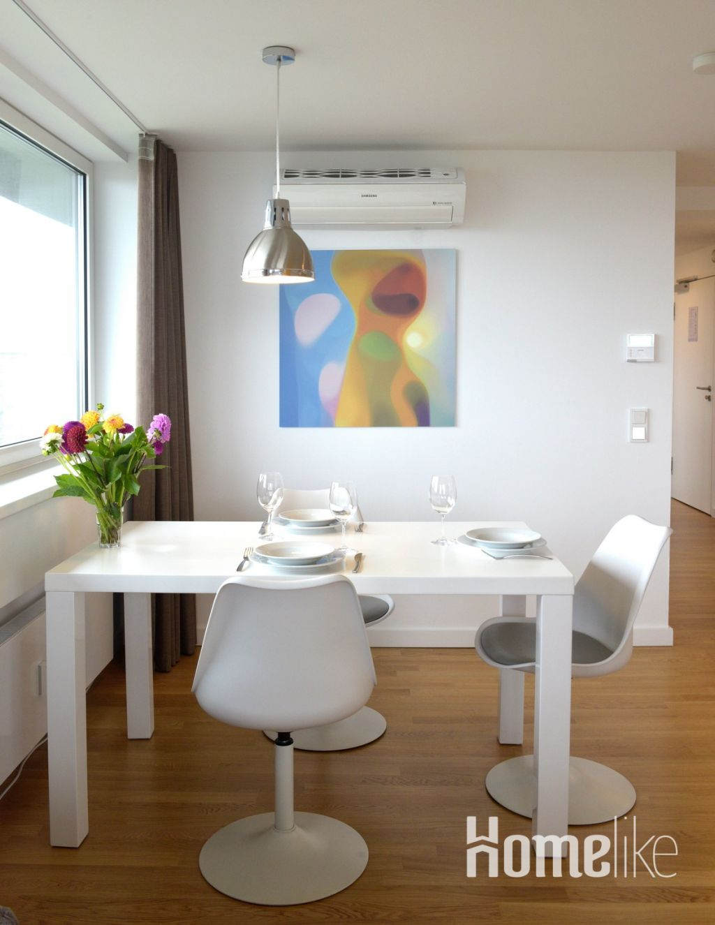 image 2 furnished 1 bedroom Apartment for rent in Hamm Center, Mitte Hamburg