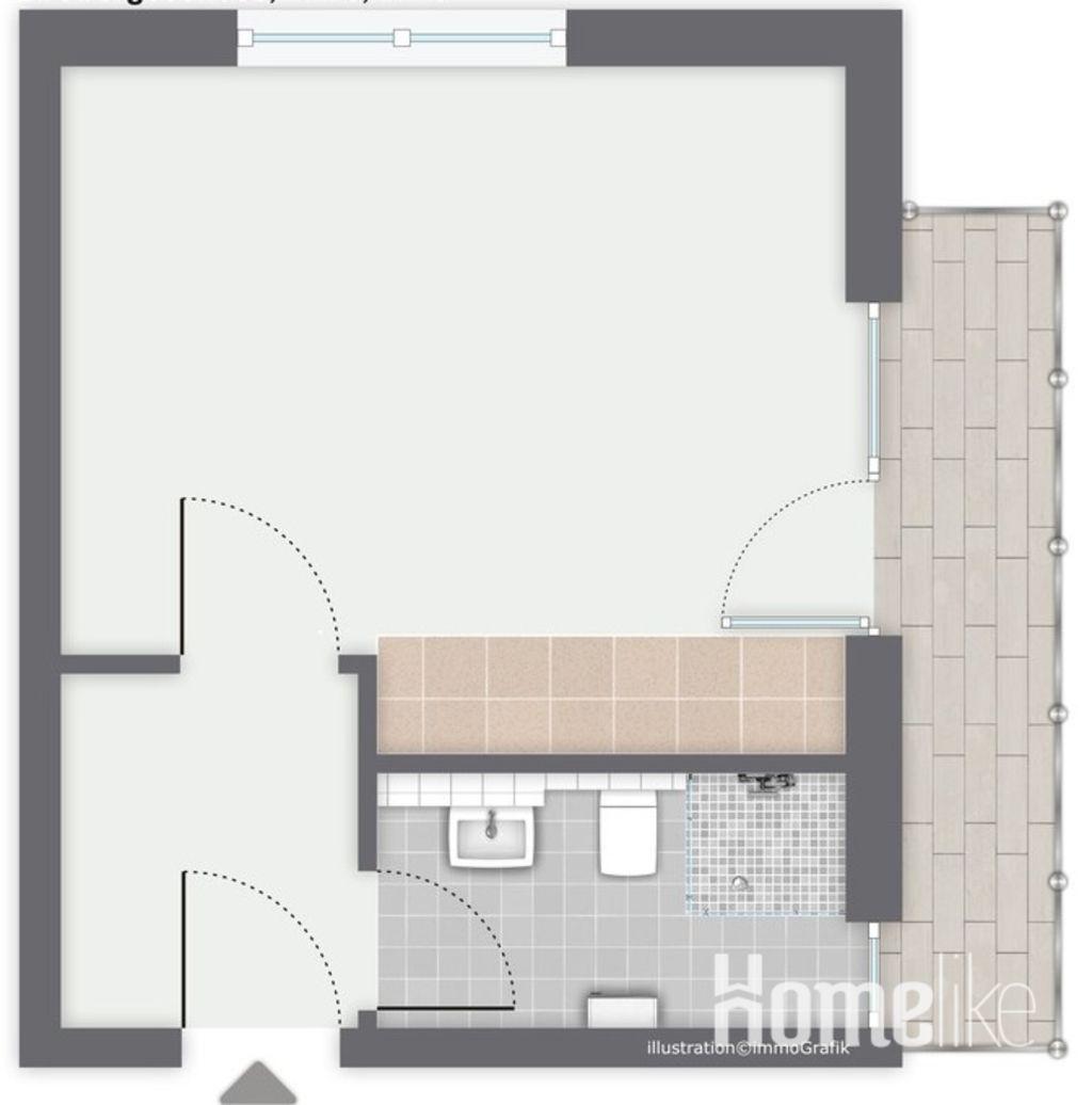 image 7 furnished 1 bedroom Apartment for rent in Sankt Augustin, Rhein-Sieg