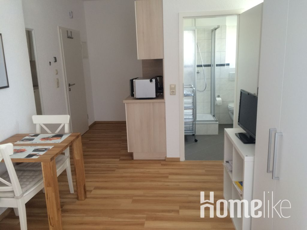 image 1 furnished 1 bedroom Apartment for rent in Mannheim, Baden-Wurttemberg