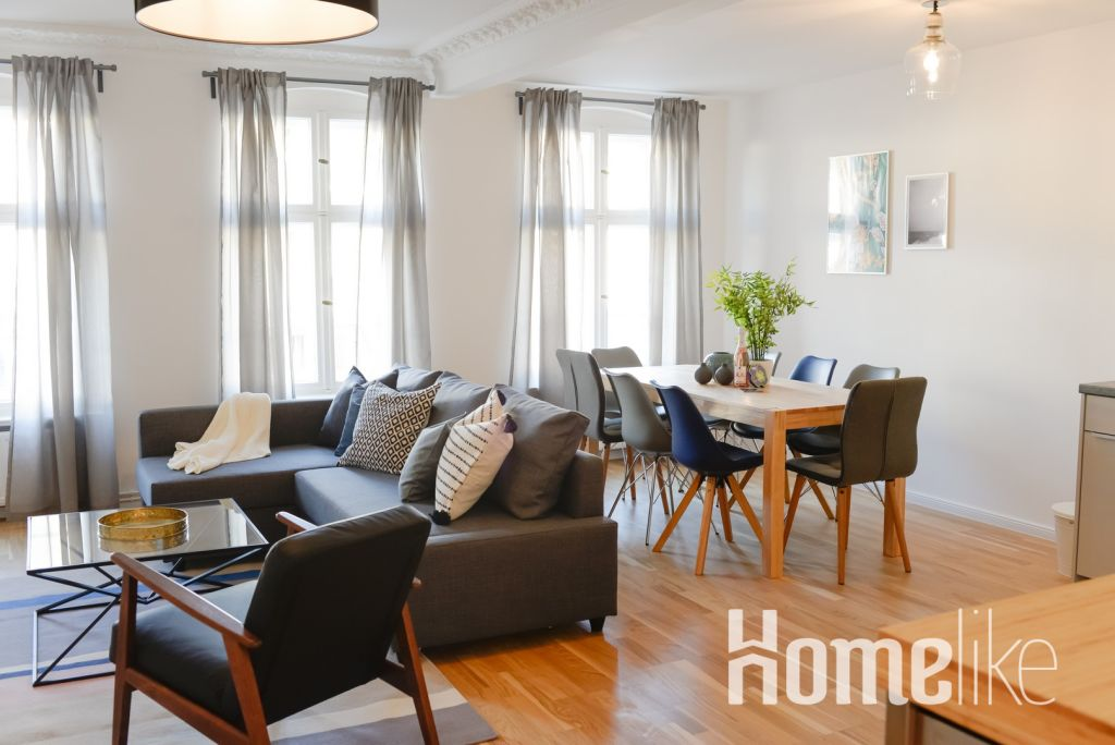image 1 furnished 3 bedroom Apartment for rent in Moabit, Mitte