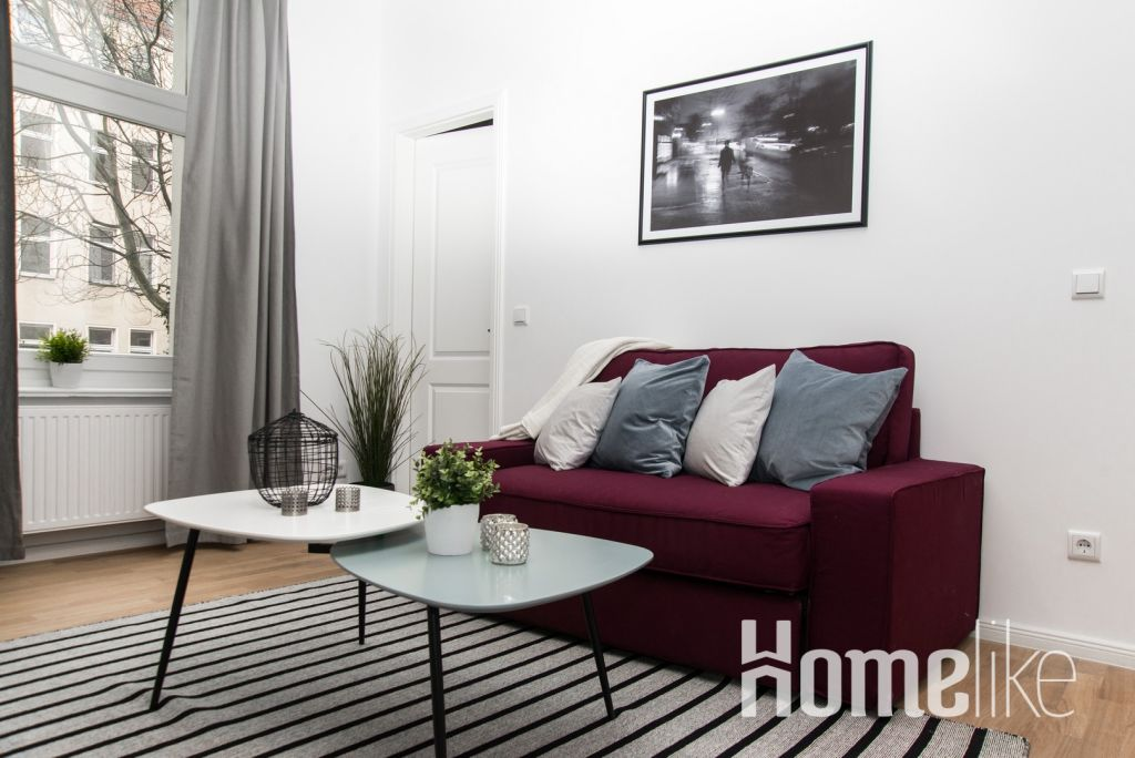 image 1 furnished 1 bedroom Apartment for rent in Wedding, Mitte