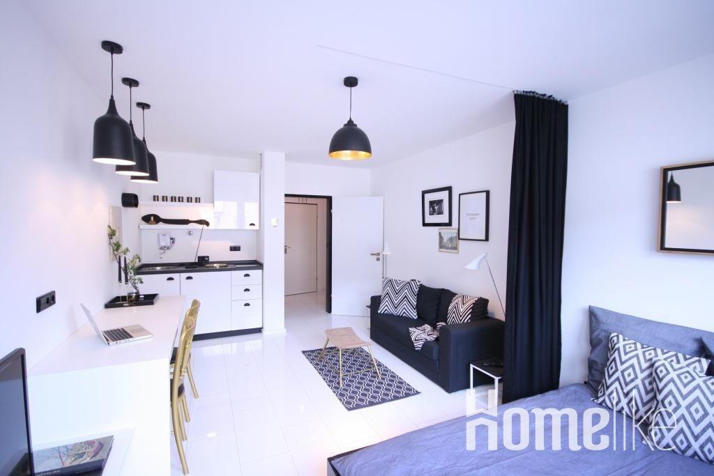 image 1 furnished 1 bedroom Apartment for rent in Dusseltal, Dusseldorf