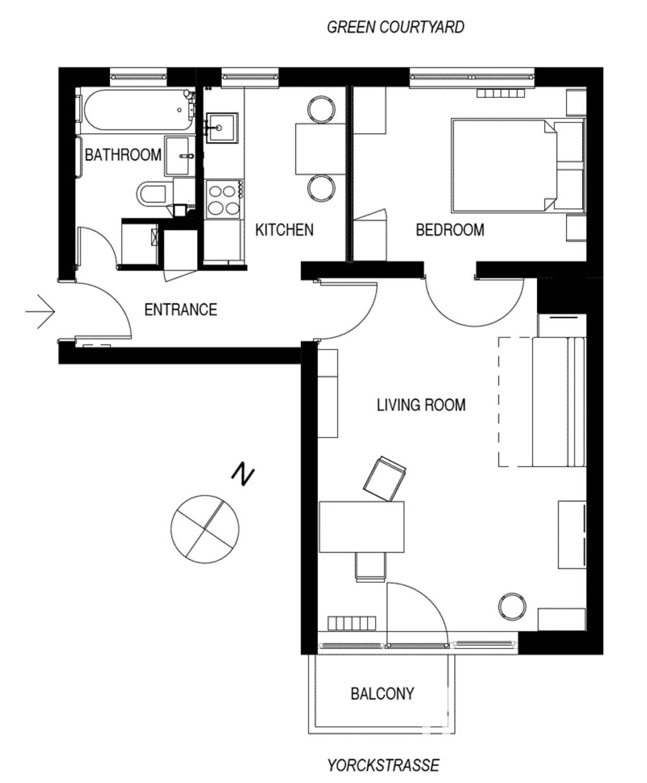 image 10 furnished 1 bedroom Apartment for rent in Kreuzberg, Friedrichshain-Kreuzberg
