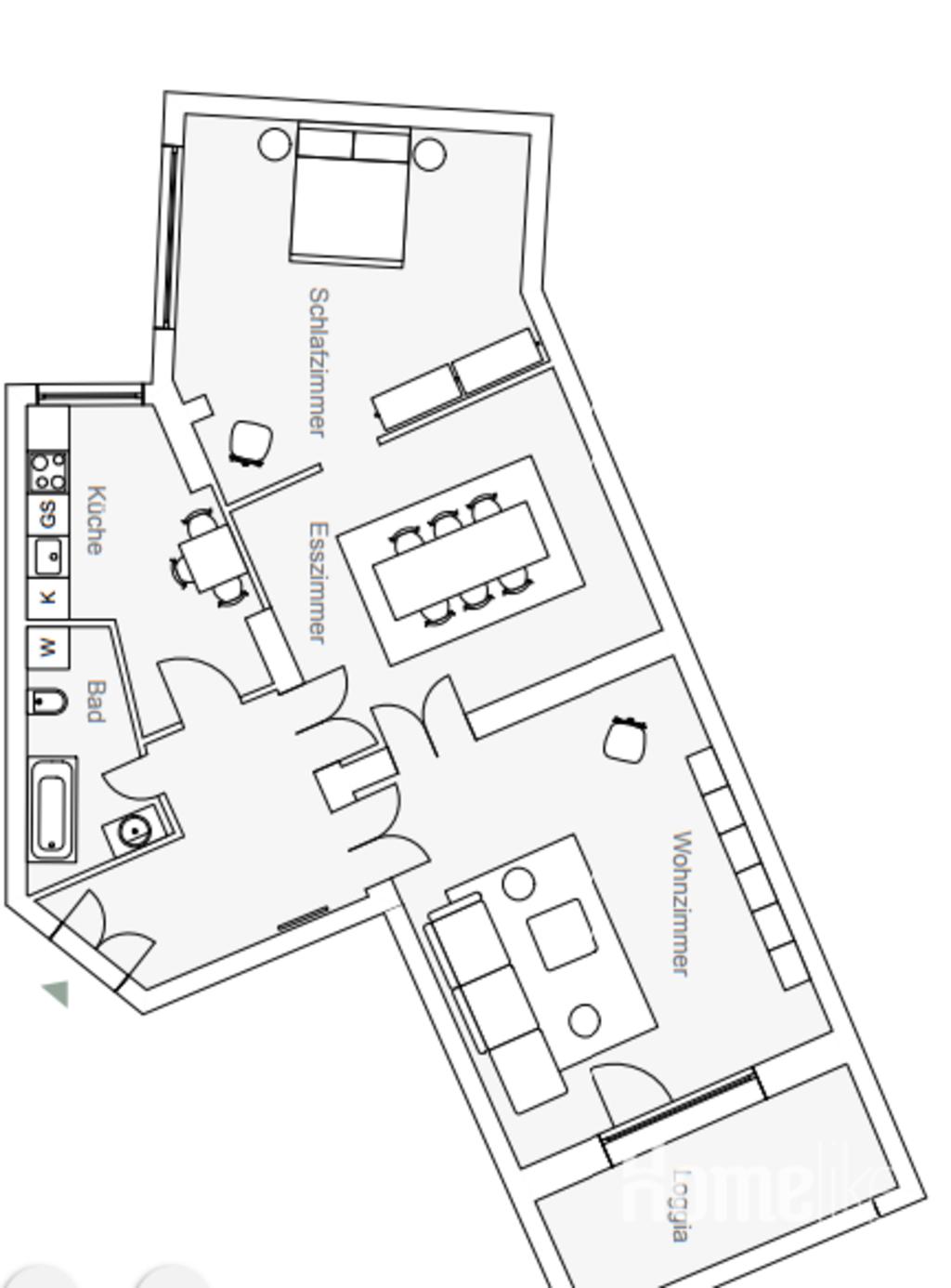 image 7 furnished 3 bedroom Apartment for rent in Schoneberg, Tempelhof-Schoneberg