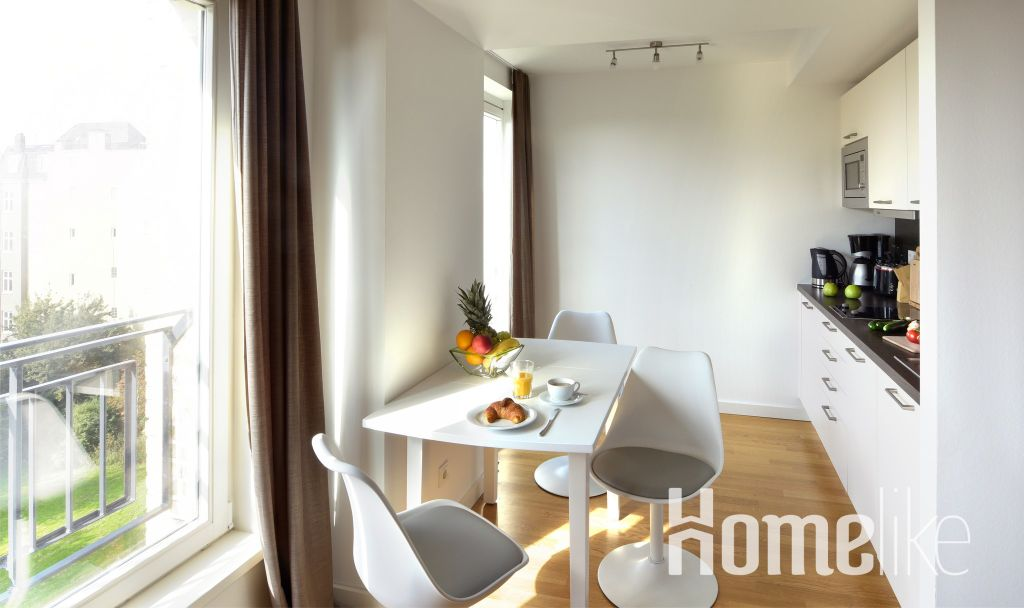 image 1 furnished 1 bedroom Apartment for rent in Hamm Center, Mitte Hamburg
