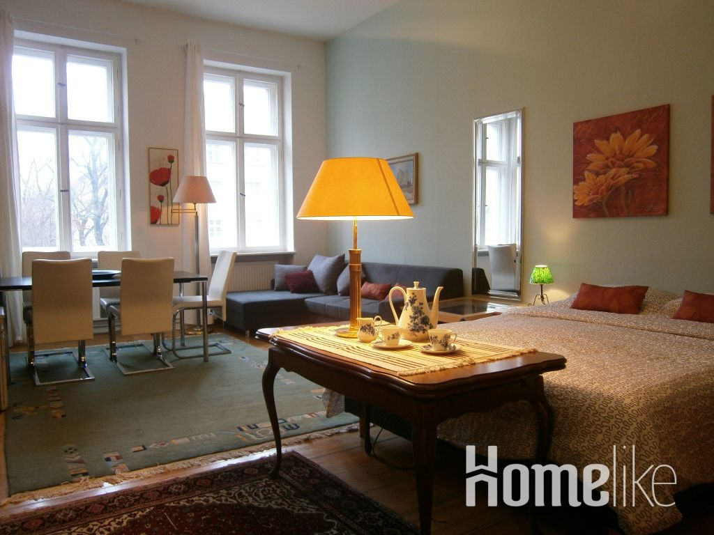 image 1 furnished 3 bedroom Apartment for rent in Charlottenburg, Charlottenburg-Wilmersdorf