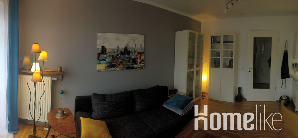 image 2 furnished 1 bedroom Apartment for rent in Biesdorf, Marzahn-Hellersdorf
