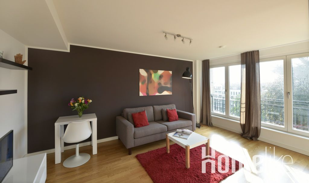 image 1 furnished 1 bedroom Apartment for rent in Hamm Center, Mitte Hamburg