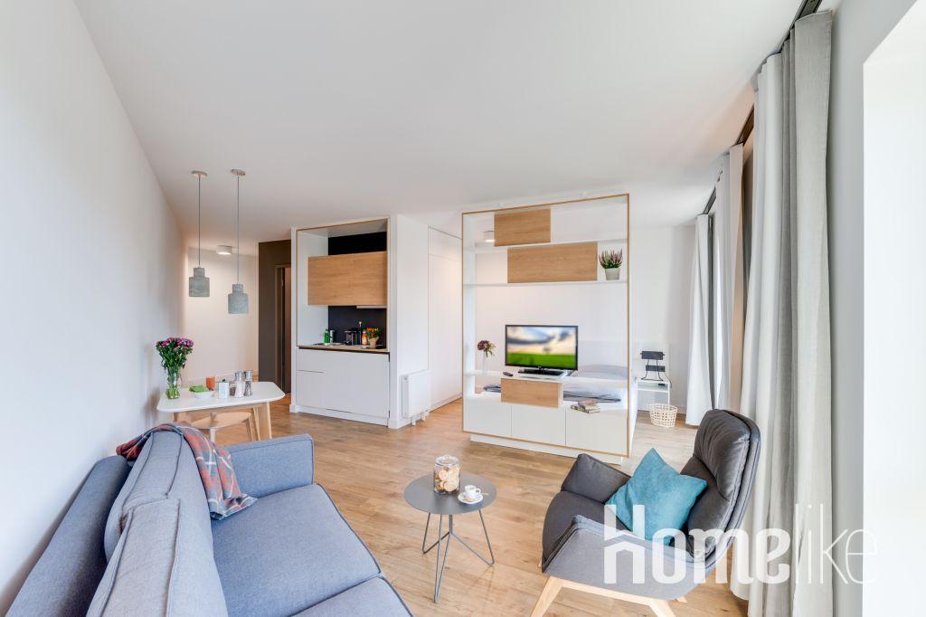 image 1 furnished 1 bedroom Apartment for rent in Karlshorst, Lichtenberg