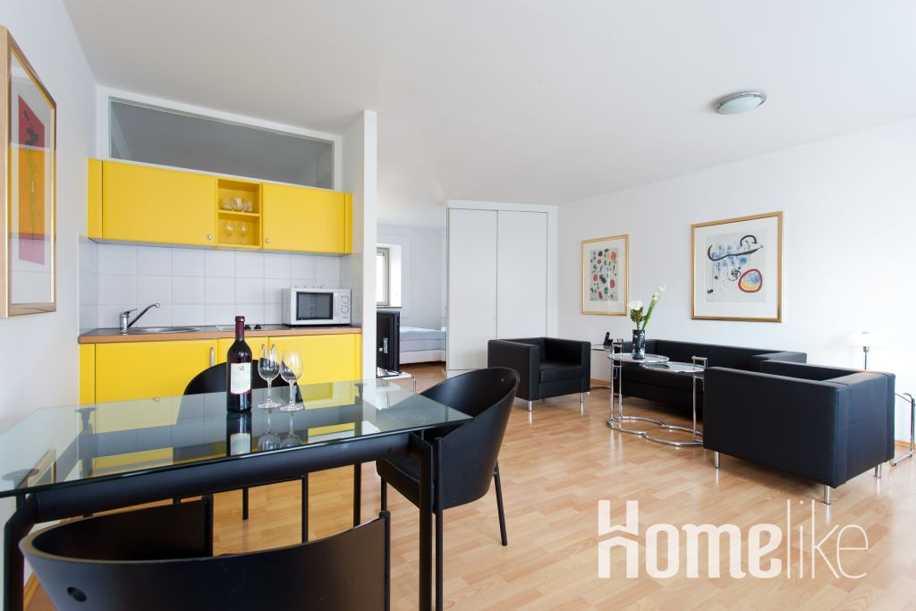 image 2 furnished 1 bedroom Apartment for rent in Tempelhof, Tempelhof-Schoneberg