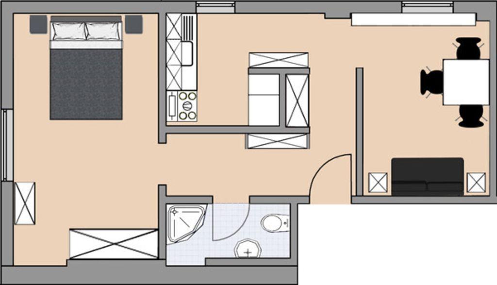image 6 furnished 1 bedroom Apartment for rent in Barth, Nordvorpommern