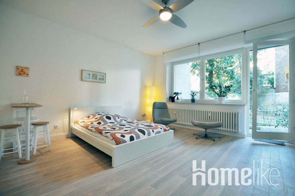 image 3 furnished 1 bedroom Apartment for rent in Pempelfort, Dusseldorf