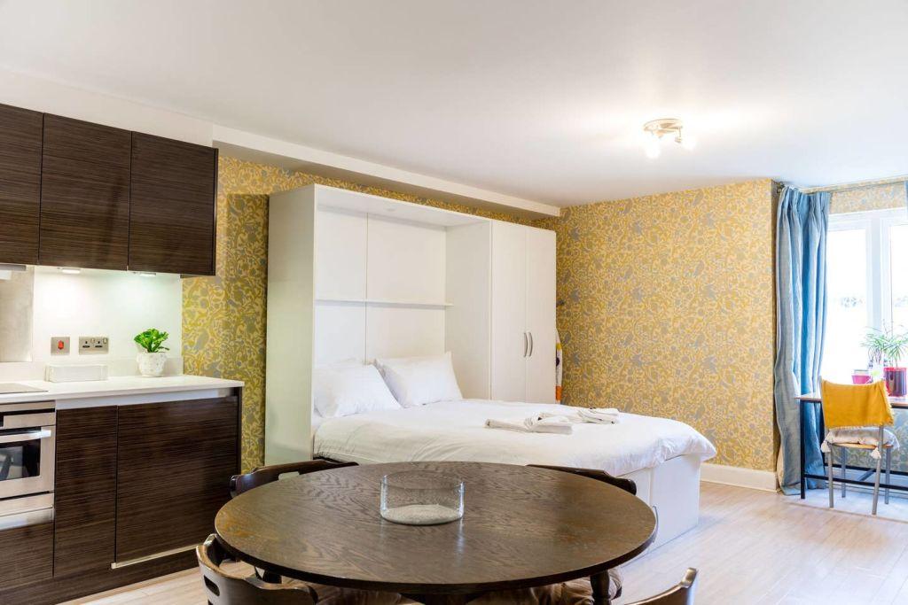 image 1 furnished Studio bedroom Apartment for rent in Cambridge, Cambridgeshire