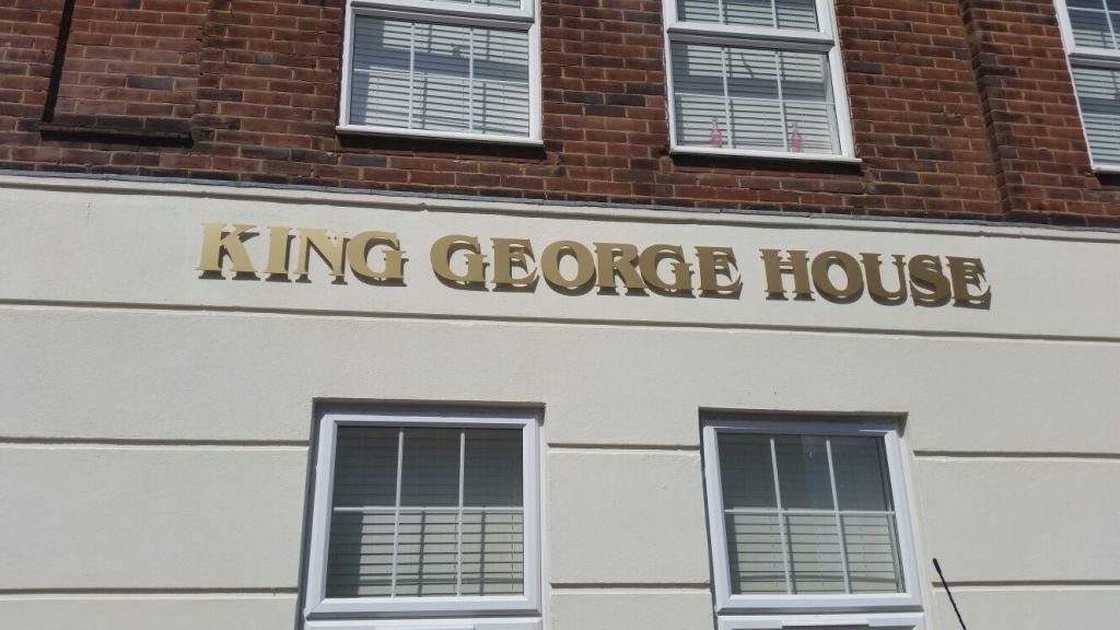 King George House , Harpsfield Parade
