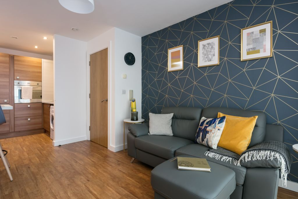 image 1 furnished 1 bedroom Apartment for rent in Salford, Greater Manchester