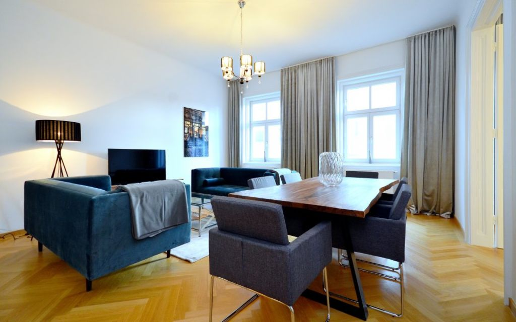 image 1 furnished Studio bedroom Apartment for rent in Innere Stadt, Vienna