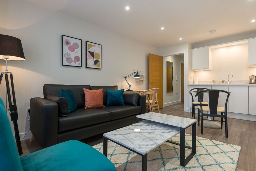 image 1 furnished 1 bedroom Apartment for rent in Hart, Hampshire