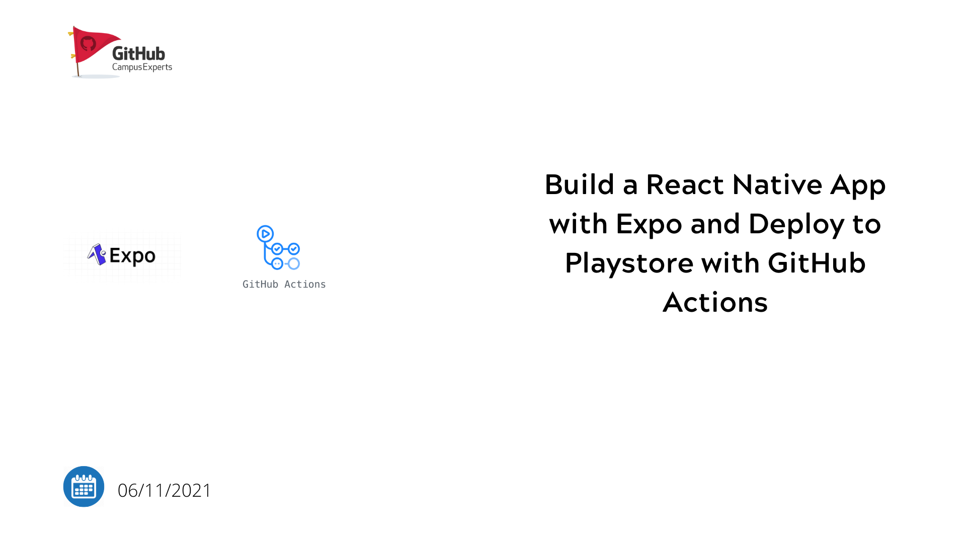 Build React Native Apps with Expo and deploying them to the app stores with GitHub Action