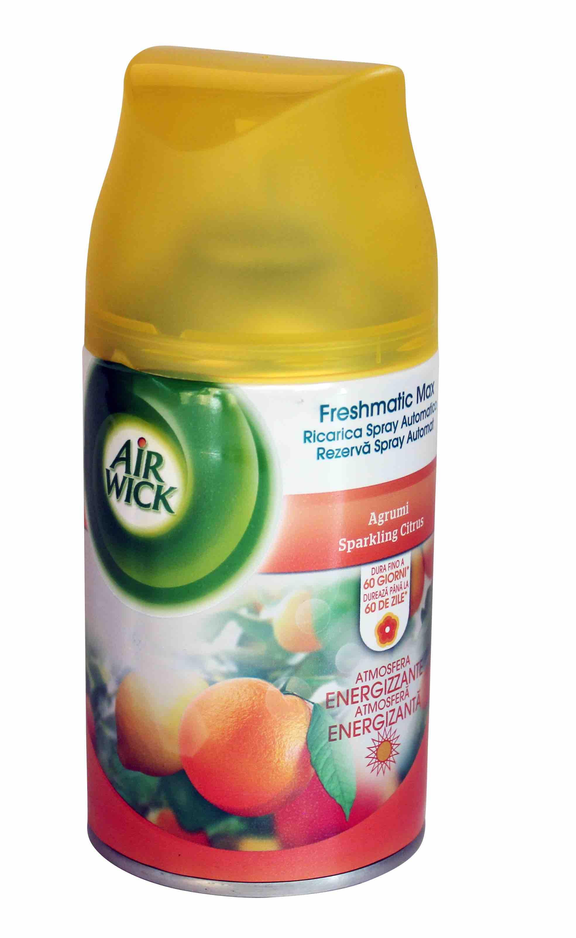 Air Wick Freshmatic Max 250ml Freshener Refill Sparkling Citrus