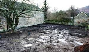 Before: Modern Garden by Inspired Garden Design
