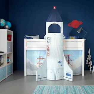 Discovery Children's Space Rocket Cabin Bed : Beds & cribs by Cuckooland