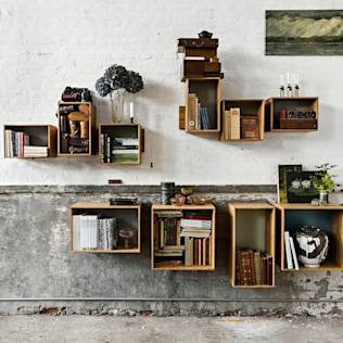 SJ Bookcase Large & Midi : Shelves by We Do Wood