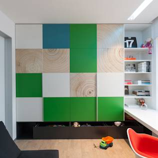 apartment V-21 : Minimalist nursery/kids room by VALENTIROV&PARTNERS
