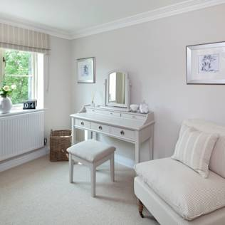 Cotswold Cottage : Country style dressing room by Emma & Eve Interior Design Ltd
