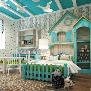 Modern nursery/kids room by Sweet Hoome Interiors