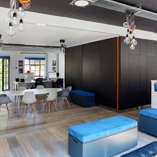 Granit's New Office : Moderne Arbeitszimmer von Granit Chartered Architects