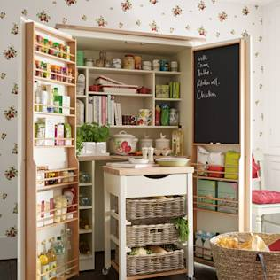 Alacena y carrito auxiliar Dorset : Storage by Laura Ashley Decoración