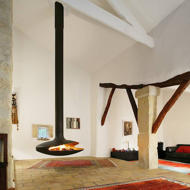 Gyrofocus Suspended Fire : Chimeneas y accesorios de Diligence International Ltd