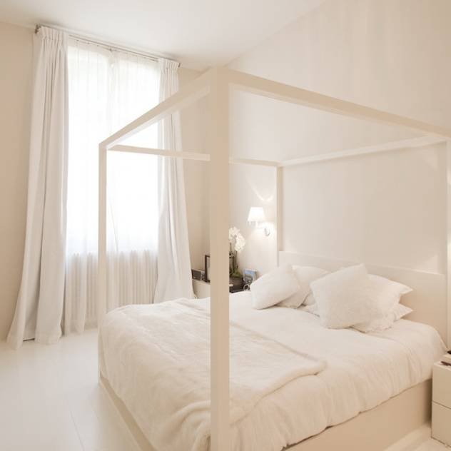 Appartement Luxembourg. Chambre : Modern bedroom by FELD Architecture