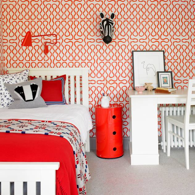 Richmond, 1930's Refurbishment : Eclectic style nursery/kids room by Amory Brown Ltd