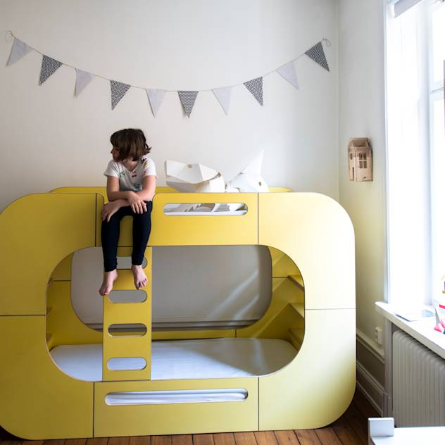 IO Bunk Pod Bunk Bed : Beds & cribs by E-Side