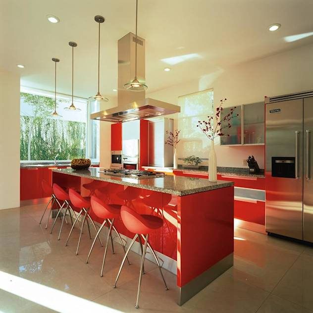Modern kitchen by Taller Luis Esquinca