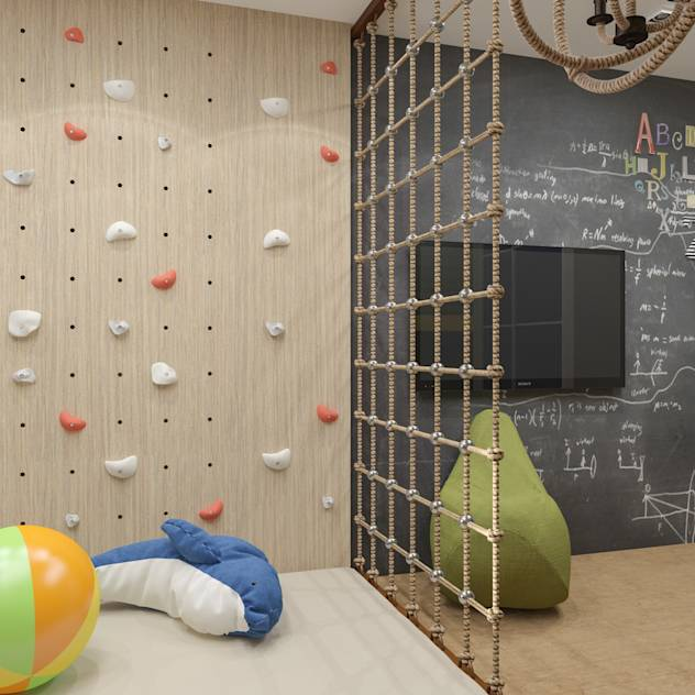 Minimalist nursery/kids room by PlatFORM