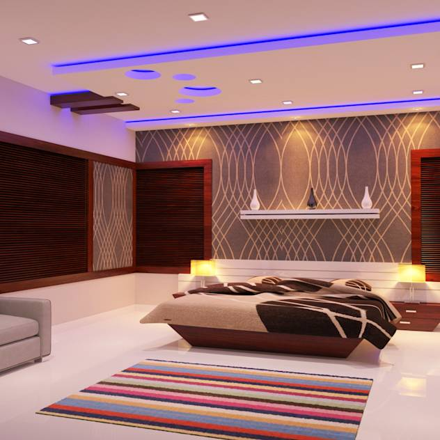 Full Home Interior Latest Designs : Modern living room by Nimble Interiors