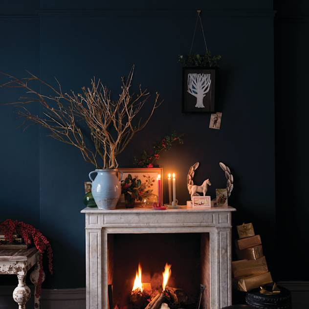 Christmas '14 : Fireplaces & accessories by Farrow & Ball