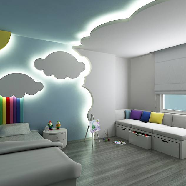 Toddler bedroom ideas odd socks and lollipops - Como pintar un dormitorio infantil ...