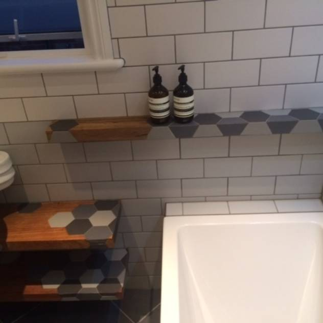 Bathroom floating shelves , : Shelves by woodstylelondon