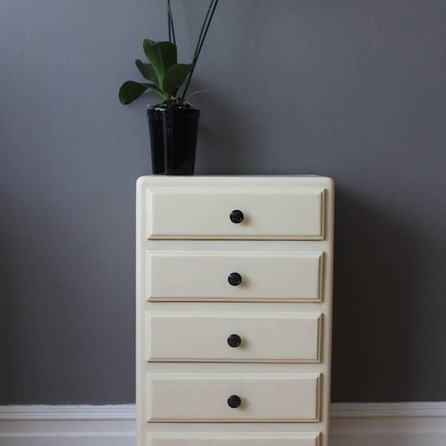 Vintage French chest of drawers : Bedside tables by Owl and the Elephant